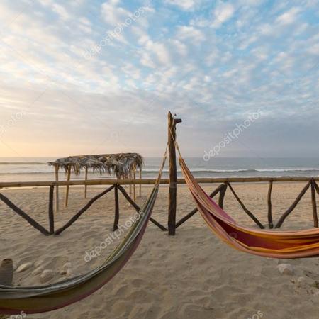 Relaxen bij het strand